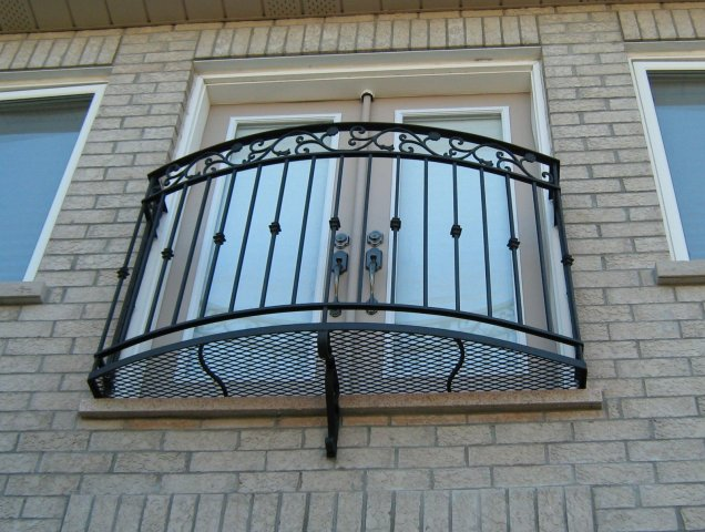 Iron art railings fencing inc blog archive wrought for Metal balcony