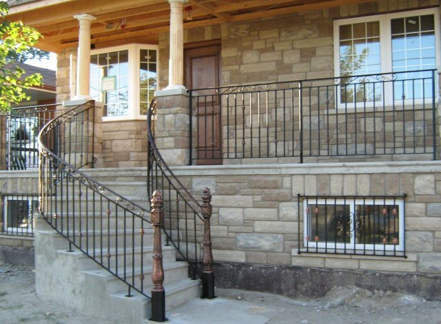 Awesome Exterior Iron Railings Images - Interior Design Ideas ...